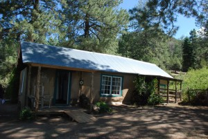 The homesteader's cabin full
