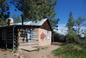 Back/side Homesteader's Cabin
