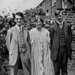 Frieda and D.H. Lawrence's wedding day, July 13, 1914.