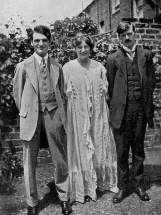 Frieda And D H Lawrence S Wedding Day July 13