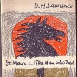 """Cover sketch of """"St. Mawr."""" Lawrence wrote most of this brief novel whilst spending five months of the summer of 1924 at what is now known as the D. H. Lawrence Ranch, a property which he and wife, Frieda, acquired from Mabel Dodge Luhan earlier that year in exchange for the manuscript of """"Sons and Lovers."""""""
