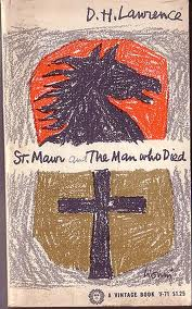 "Cover sketch of ""St. Mawr."" Lawrence wrote most of this brief novel whilst spending five months of the summer of 1924 at what is now known as the D. H. Lawrence Ranch, a property which he and wife, Frieda, acquired from Mabel Dodge Luhan earlier that year in exchange for the manuscript of ""Sons and Lovers."""