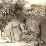 Frieda with Georgia O'Keeffe
