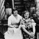 Frieda with Mabel Dodge Luhan and Dorothy Brett